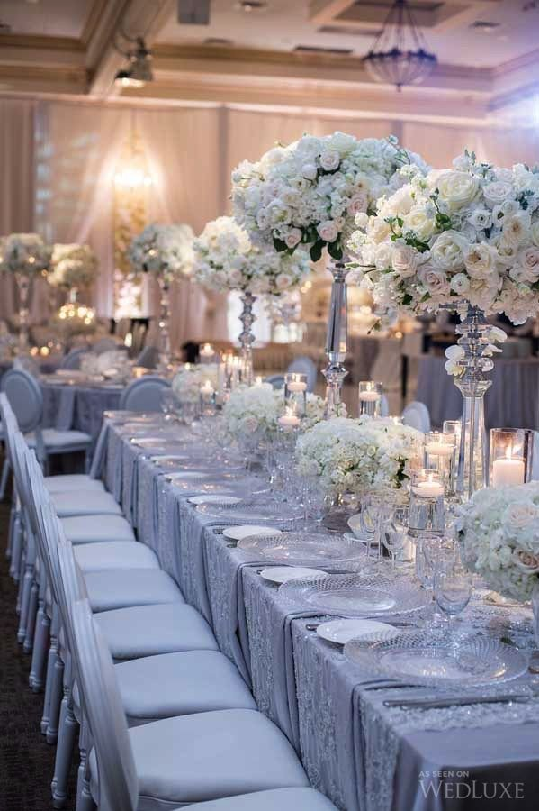 White and Silver Wedding Decor Inspirational Silver Wedding Decorations