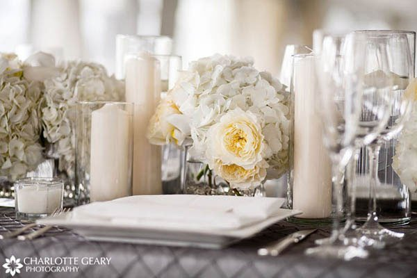 White and Silver Wedding Decor New Marne S Blog Sa Over at Jezebel Recently Shared the Fact that the Wedding Gown She 39ll