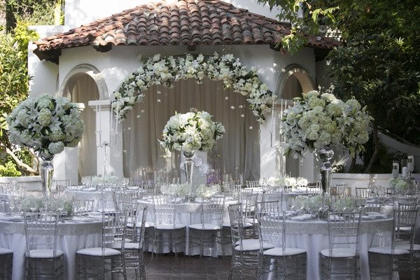 White and Silver Wedding Decor New Silver Wedding Ideas 12 Ways to Use Silver In Your Décor Inside Weddings