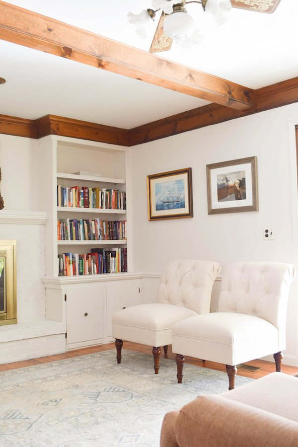 White Paint Guide for Living Room Decorating Inspirational Rachel Schultz White Paint for the Living Room