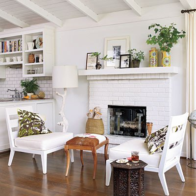 White Paint Guide for Living Room Decorating Luxury Decorate with White White Decorating Ideas southern Living
