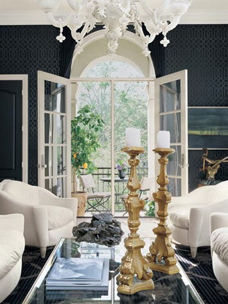 White Traditional Living Room Awesome 21 Black and White Traditional Living Rooms Digsdigs