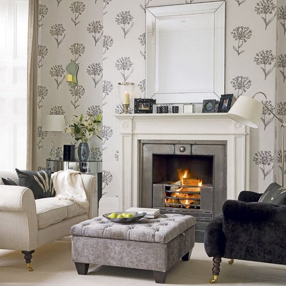 White Traditional Living Room Awesome 21 Black and White Traditional Living Rooms