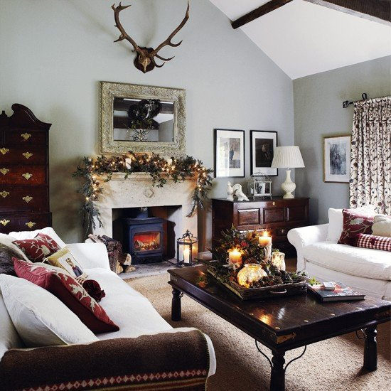 White Traditional Living Room Awesome Traditional Living Room White sofas