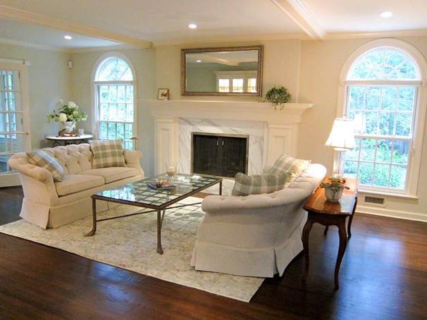 White Traditional Living Room Best Of Refined Elegance In White Traditional Living Room Designers Portfolio Hgtv Home & Garden