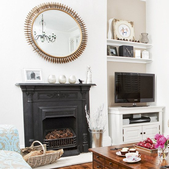 White Traditional Living Room Lovely 21 Black and White Traditional Living Rooms Digsdigs