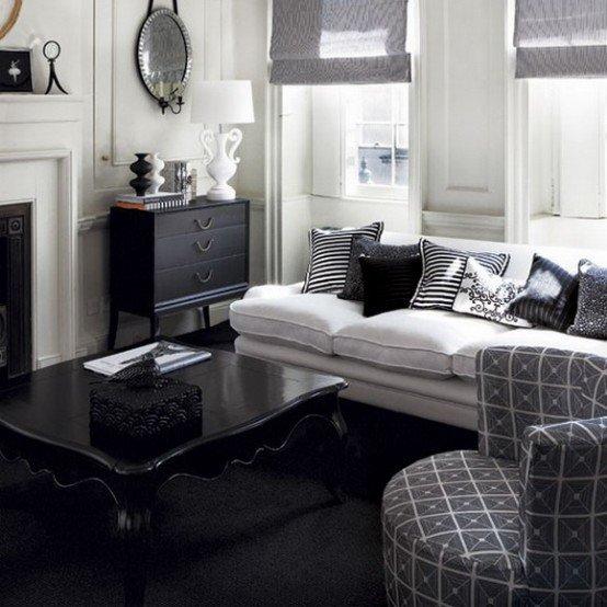 White Traditional Living Room Lovely 21 Creative&inspiring Black and White Traditional Living Room Designs Homesthetics Inspiring