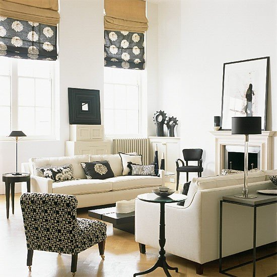 White Traditional Living Room Luxury 21 Black and White Traditional Living Rooms Digsdigs