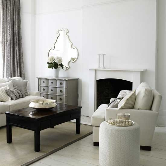 White Traditional Living Room Unique 21 Black and White Traditional Living Rooms Digsdigs
