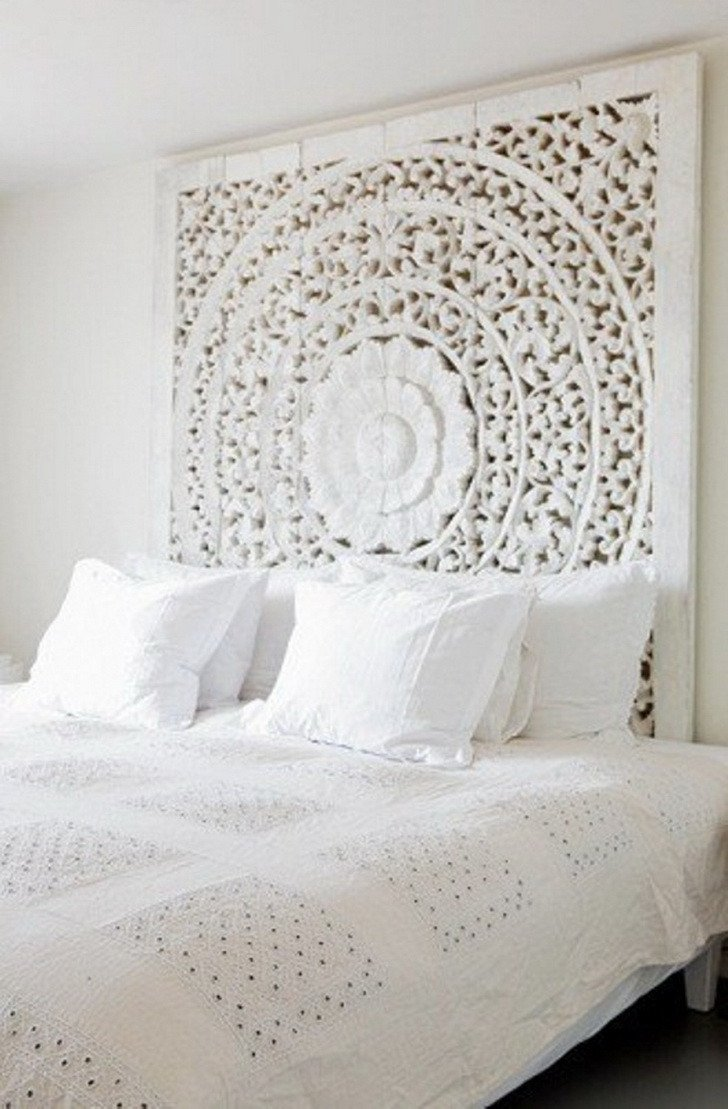 White Wall Decor for Bedroom Elegant 41 White Bedroom Interior Design Ideas &