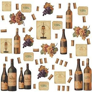 Wine Decor for Dining Room Best Of Wine Bottles 56 Big Wall Stickers Dining Room Decor Kitchen Bar Decals Labels