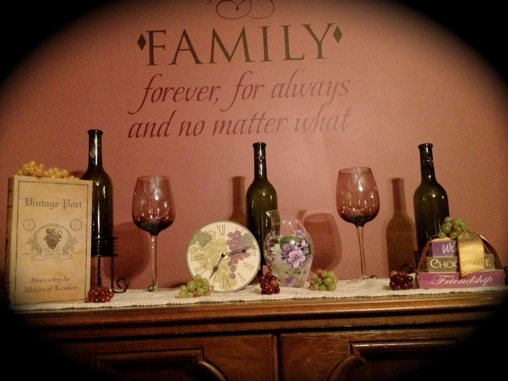 Wine Decor for Dining Room Luxury Wine themed Dining Room Home Decor