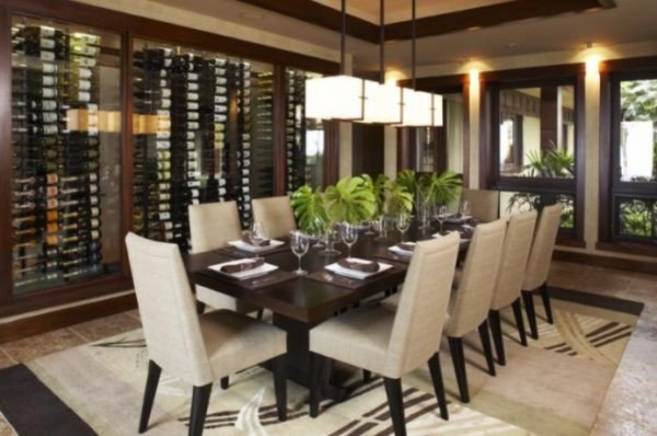 Wine Decor for Dining Room New Wine Storage for Modern Dining Rooms