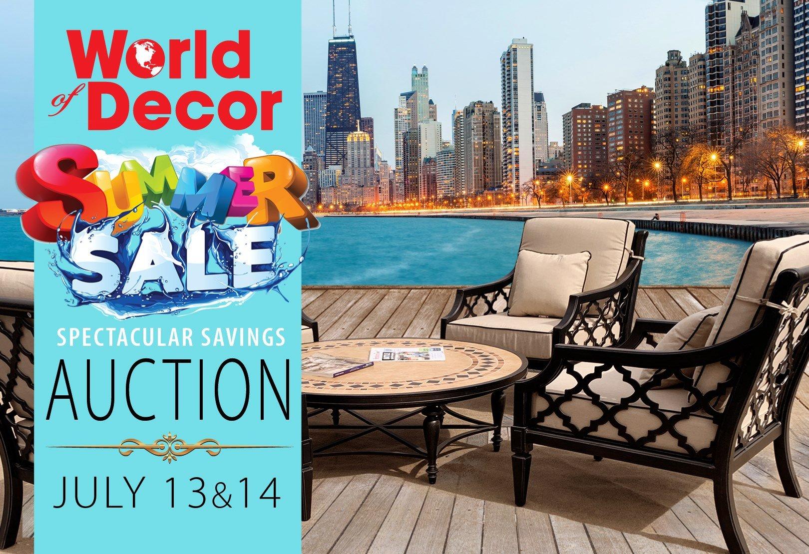 World Of Decor San Antonio Unique O World Of Decor Auctions