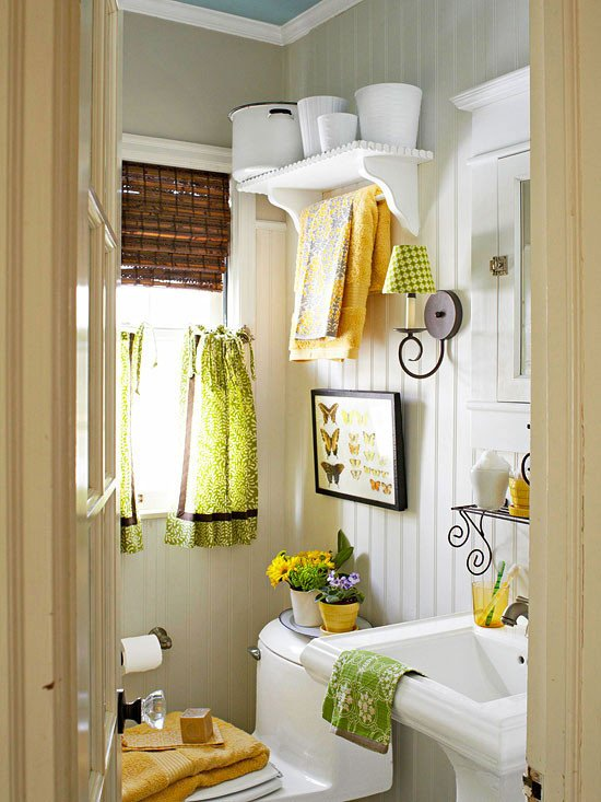 Yellow and Blue Bathroom Decor Awesome Colorful Bathrooms 2013 Decorating Ideas Color Schemes