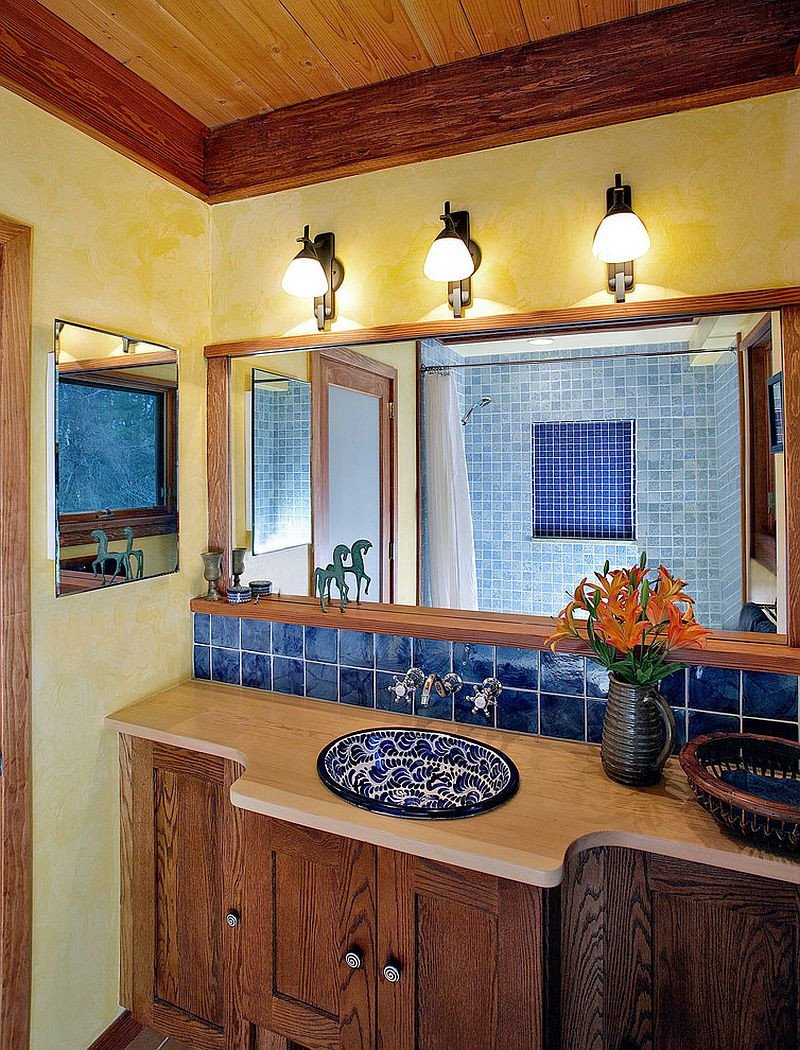 Yellow and Blue Bathroom Decor Awesome Trendy Twist to A Timeless Color Scheme Bathrooms In Blue and Yellow
