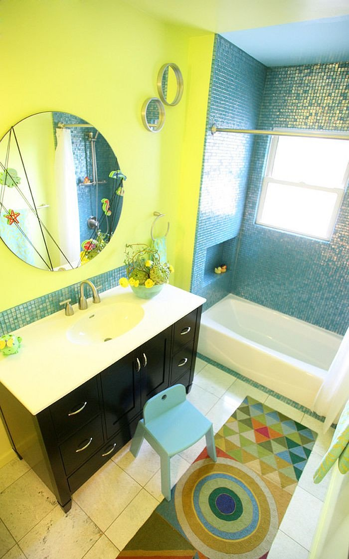 Yellow and Blue Bathroom Decor Beautiful Trendy Twist to A Timeless Color Scheme Bathrooms In Blue and Yellow