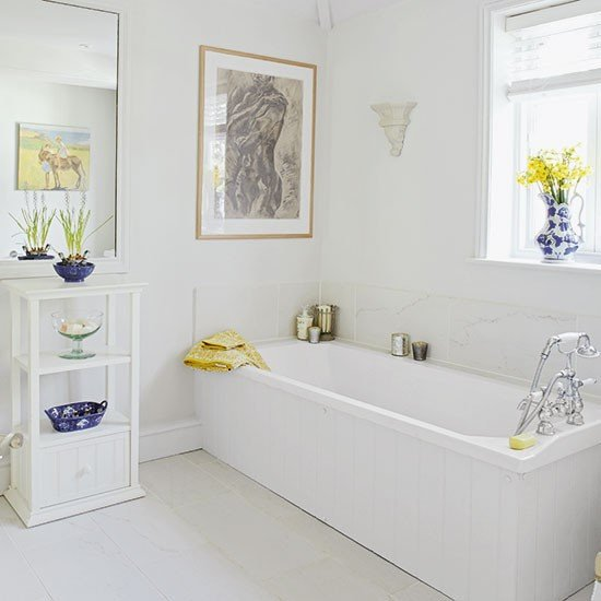 Yellow and Blue Bathroom Decor Luxury White Bathroom with Yellow and Blue Accessories
