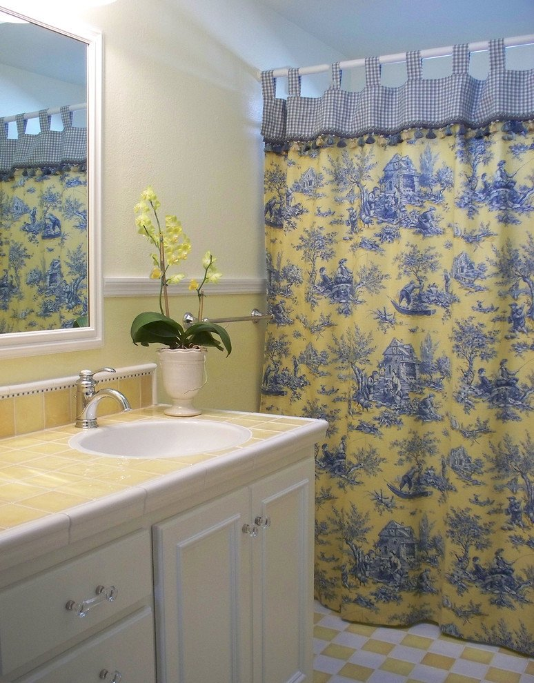 Yellow and Blue Bathroom Decor New Lovely Custom Shower Curtains Decorating Ideas