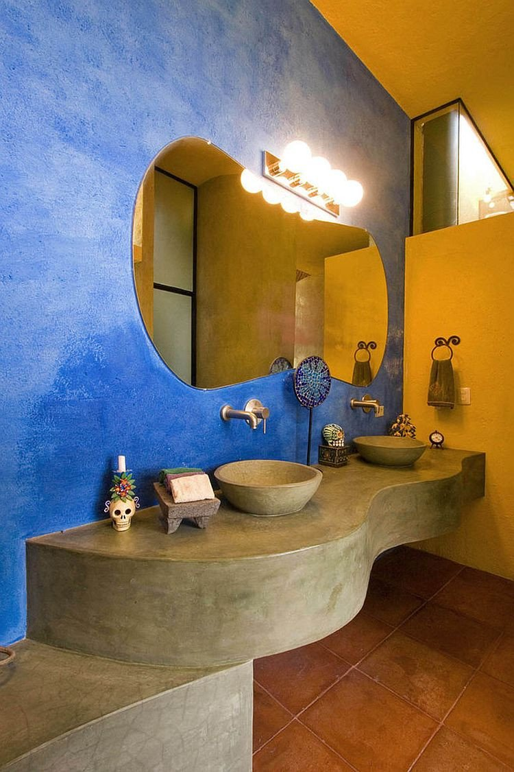 Yellow and Blue Bathroom Decor New Trendy Twist to A Timeless Color Scheme Bathrooms In Blue and Yellow