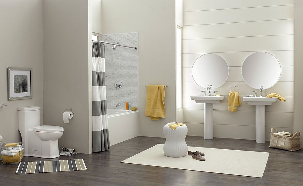 Yellow and Gray Bathroom Decor Best Of Trendy and Refreshing Gray and Yellow Bathrooms that Delight