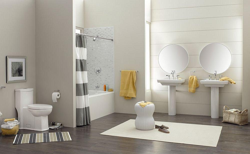 Yellow and Gray Bathroom Decor Best Of Trendy and Refreshing Gray and Yellow Bathrooms that Delight