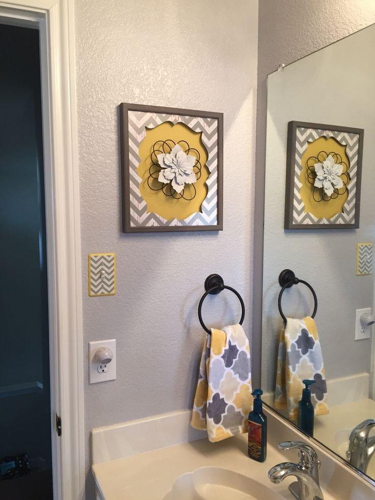 Yellow and Gray Bathroom Decor Elegant Best 20 Grey Yellow Bathrooms Ideas On Pinterest