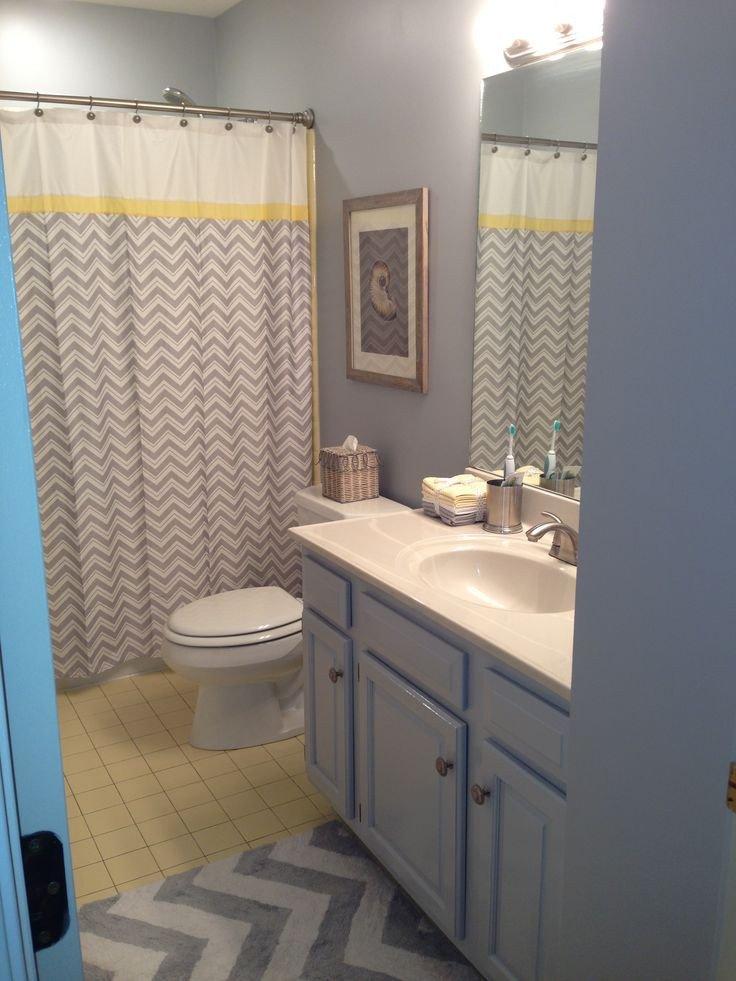 Yellow and Gray Bathroom Decor Fresh 47 Best Images About My Yellow and Grey Bathroom Decorating A Mustard and Grey Bathroom On