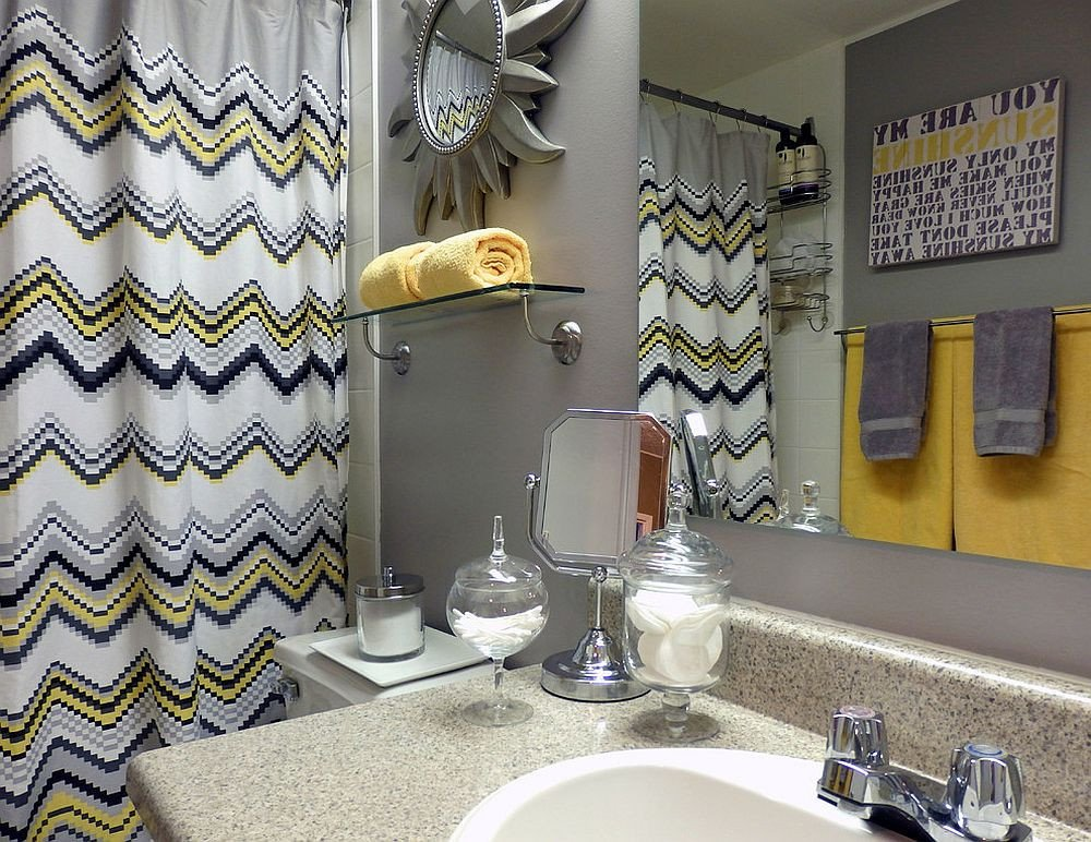 Yellow and Gray Bathroom Decor Inspirational Trendy and Refreshing Gray and Yellow Bathrooms that Delight