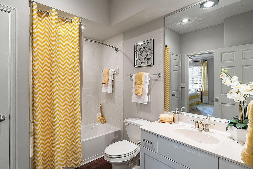 Yellow and Gray Bathroom Decor Unique Trendy and Refreshing Gray and Yellow Bathrooms that Delight