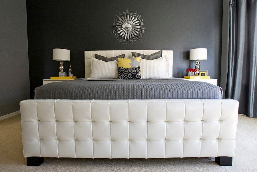 Yellow and Gray Bedroom Decor Awesome Cheerful sophistication 25 Elegant Gray and Yellow Bedrooms