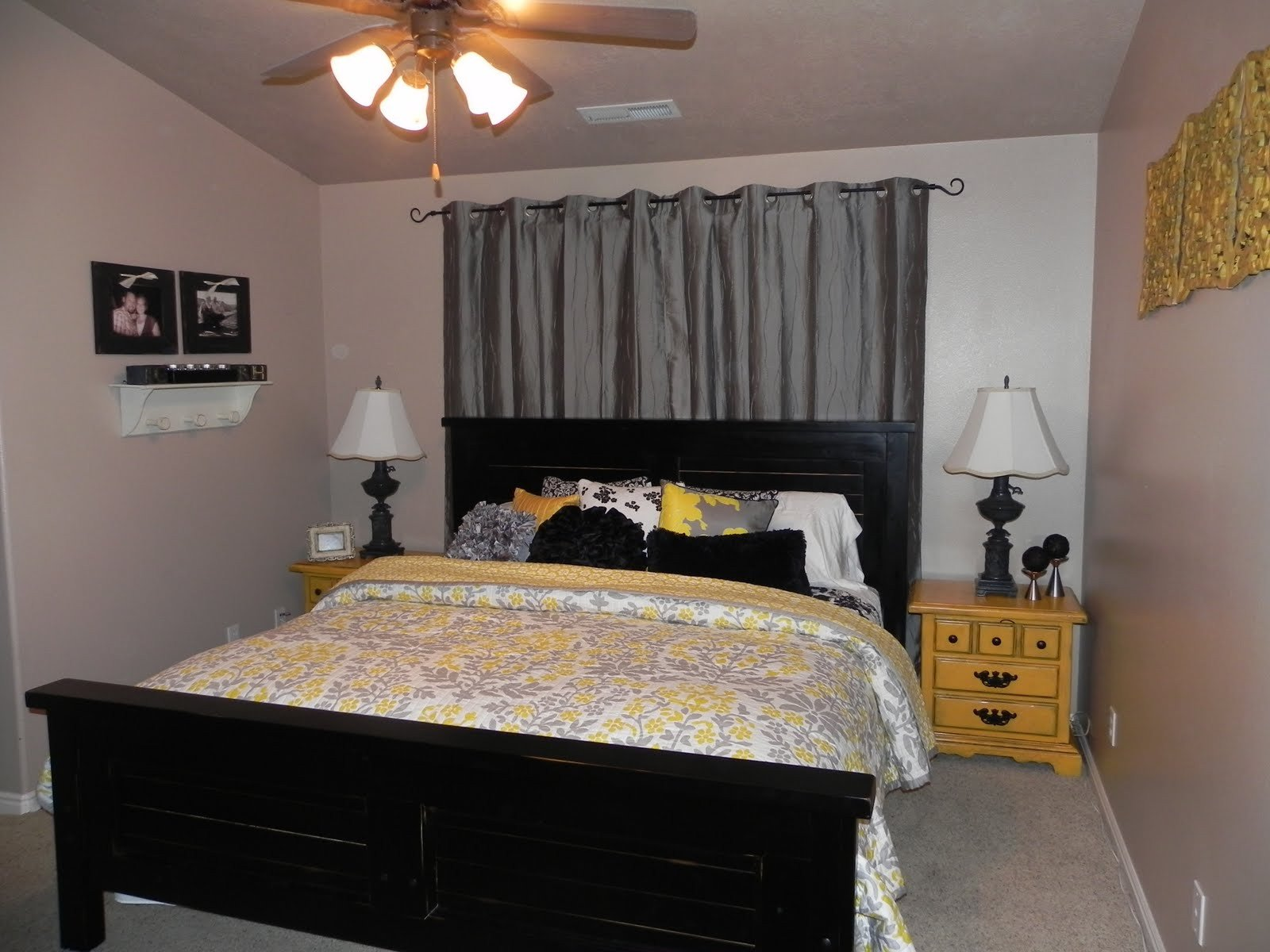 Yellow and Gray Bedroom Decor Elegant Yellow and Gray Master Bedroom by Chelsea Feature Friday