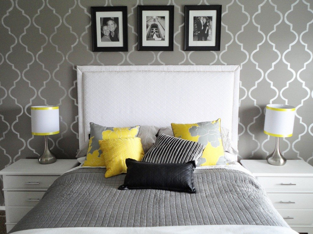 Yellow and Gray Bedroom Decor Lovely Diy Inspiration