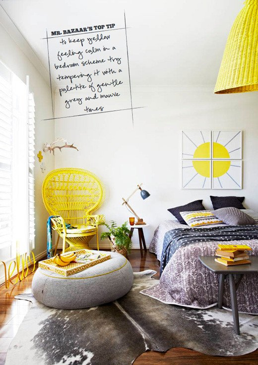 Yellow and Gray Bedroom Decor Unique Sneak Peek Inside Out Magazine April 2013 Bright Bazaar by Will Taylor