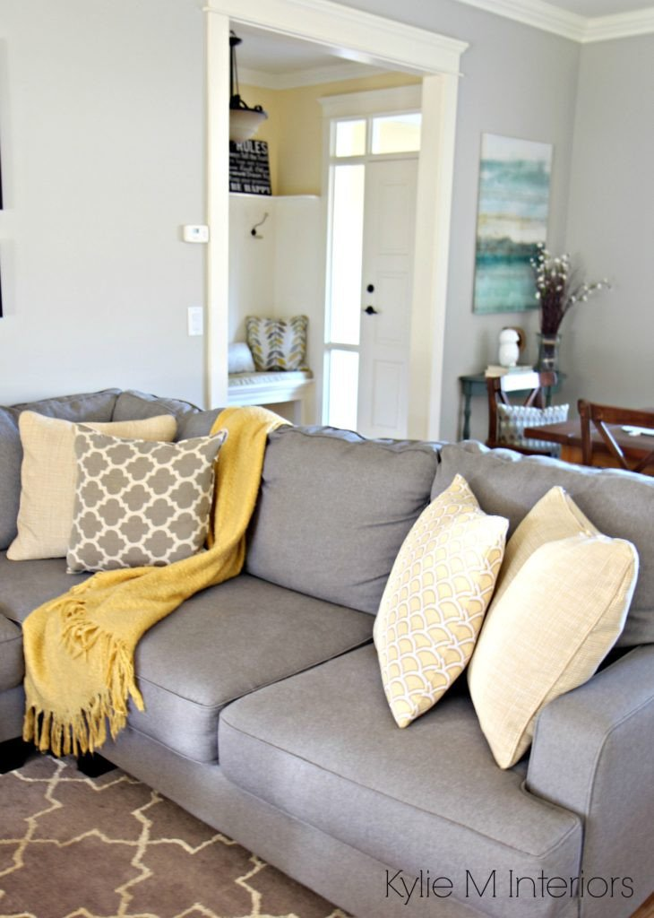 Yellow and Gray Home Decor Awesome ask Kylie How Can I Make Gray Feel Warmer