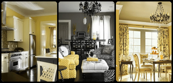 Yellow and Gray Home Decor Elegant Decorating with Yellow and Gray