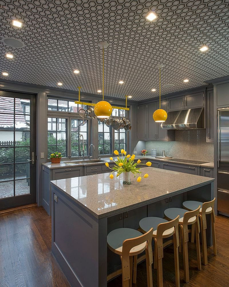 Yellow and Gray Kitchen Decor Awesome 11 Trendy Ideas that Bring Gray and Yellow to the Kitchen