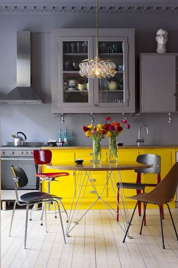 Yellow and Gray Kitchen Decor Best Of How to Decorate the Kitchen Using Yellow Accents