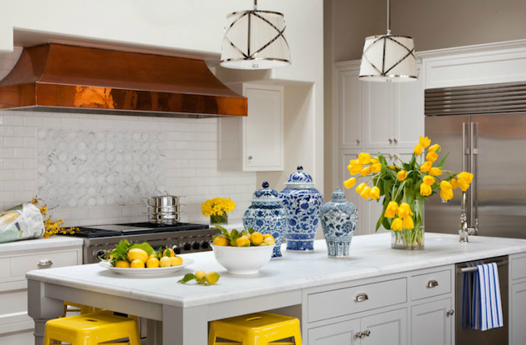 Yellow and Gray Kitchen Decor Best Of Yellow and Gray Kitchen Transitional Kitchen Grant K Gibson
