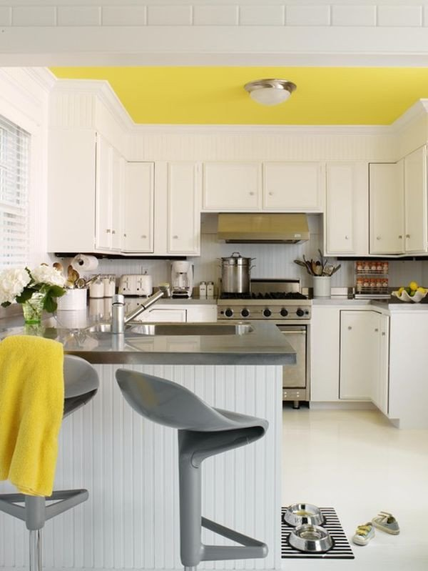 Yellow and Gray Kitchen Decor Lovely Decorating Yellow & Grey Kitchens Ideas & Inspiration