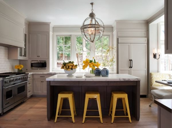Yellow and Gray Kitchen Decor Luxury Decorating Yellow & Grey Kitchens Ideas & Inspiration