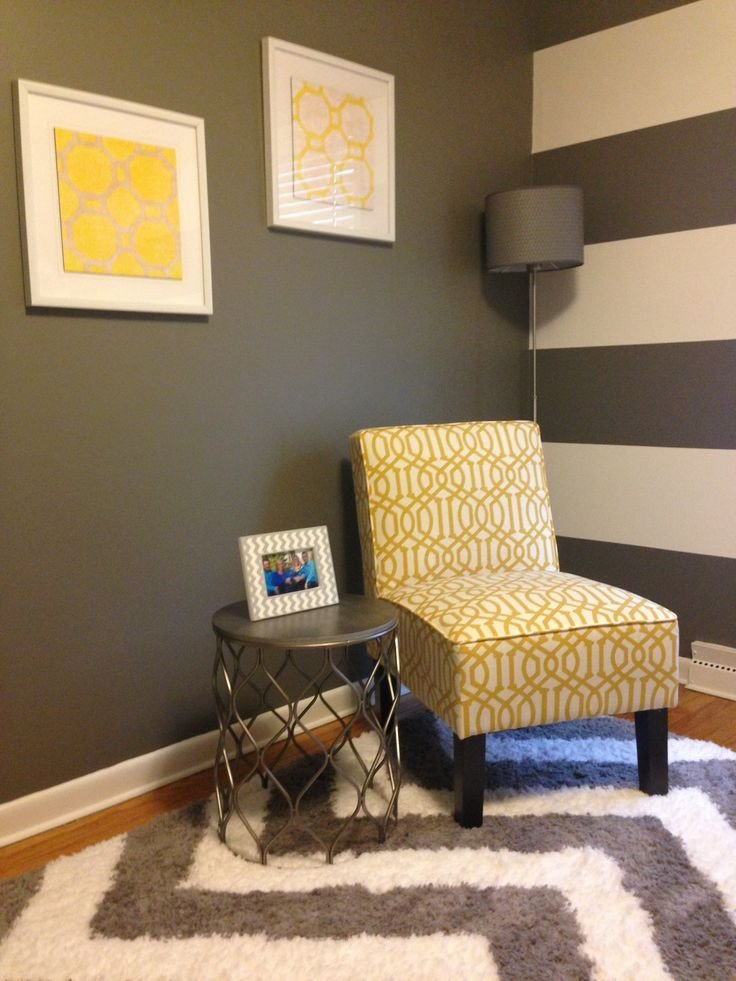 Yellow and Grey Home Decor Unique Home Fice Decor Yellow Grey White Office Home Accentchair