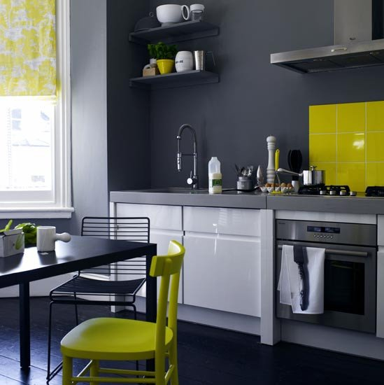 Yellow and Grey Kitchen Decor Awesome Color Inspiration Yellow Gray