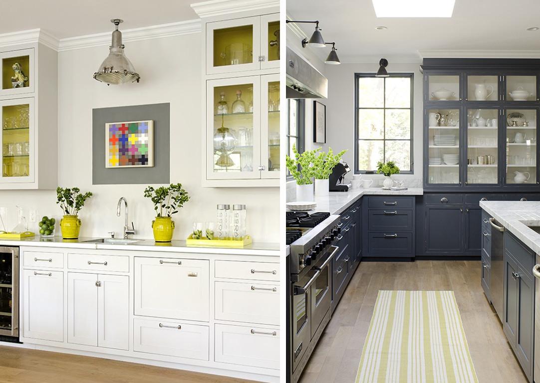 Yellow and Grey Kitchen Decor Fresh Kitchen by Willow Decor Via Jessica Via Chelsea