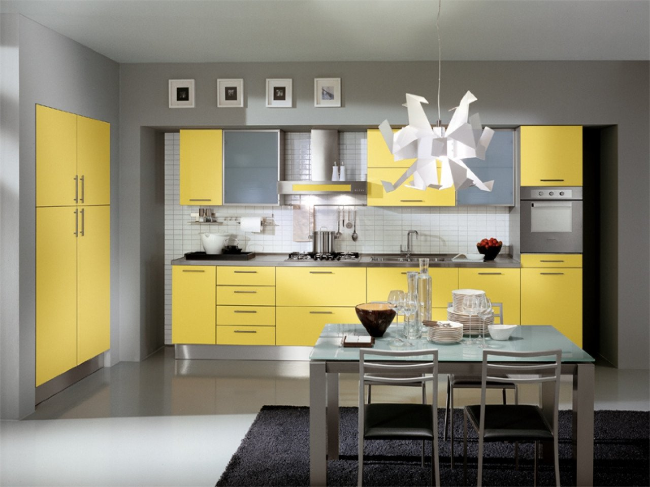 Yellow and Grey Kitchen Decor Lovely Kitchen Decorating Ideas with Red Accents Grey and Yellow Kitchen Ideas Gray Kitchen Cabinets