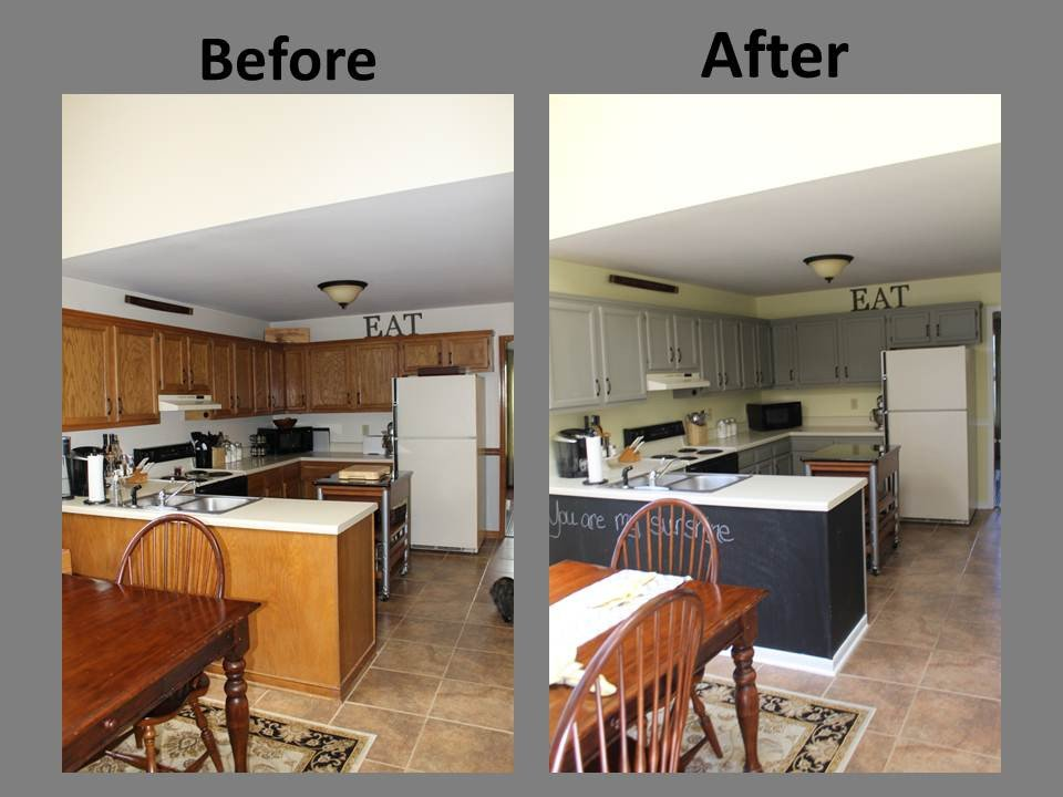 Yellow and Grey Kitchen Decor Luxury Yellow & Gray Kitchen Remodel before & after