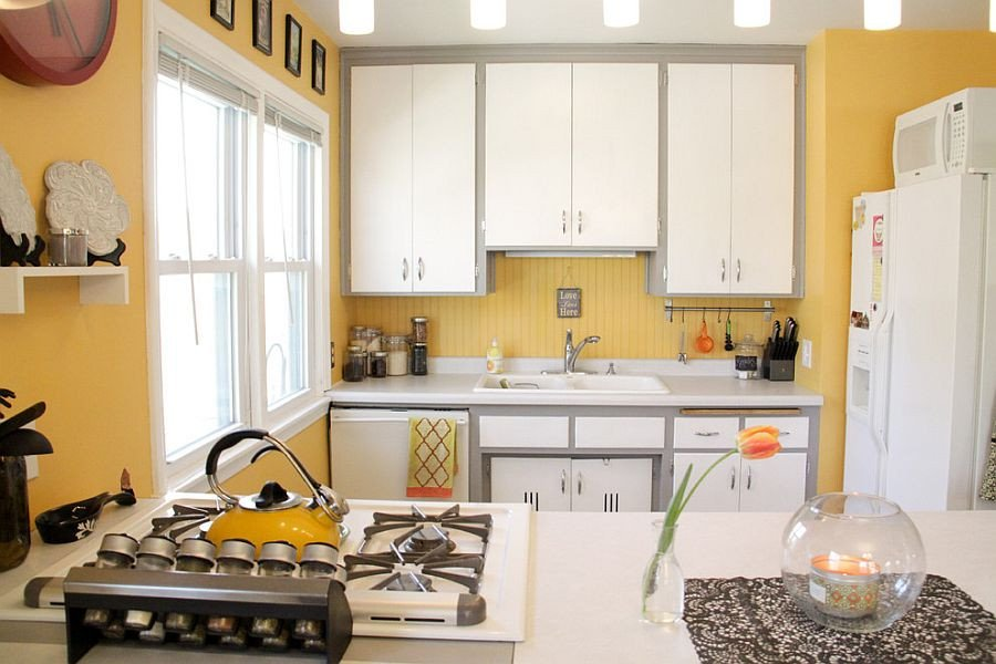 Yellow and Grey Kitchen Decor New 11 Trendy Ideas that Bring Gray and Yellow to the Kitchen