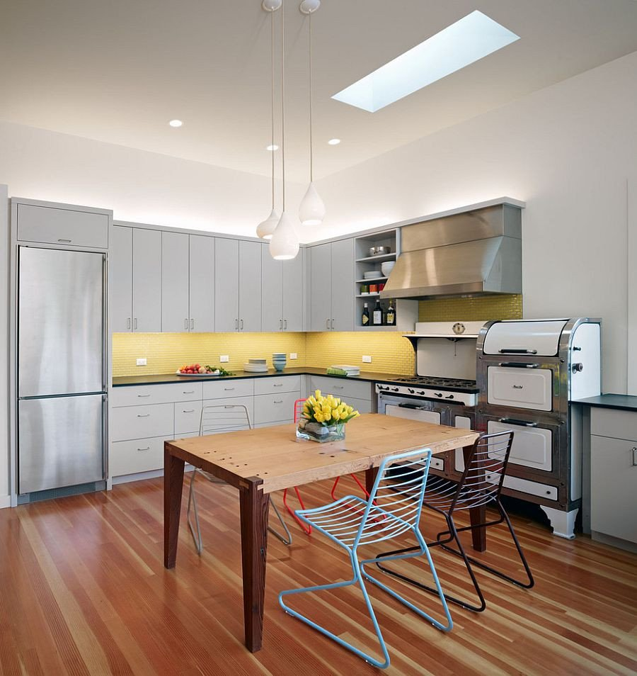 Yellow and Grey Kitchen Decor Unique 11 Trendy Ideas that Bring Gray and Yellow to the Kitchen