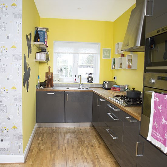 Yellow and Grey Kitchen Decor Unique Yellow and Grey Kitchen Decorating
