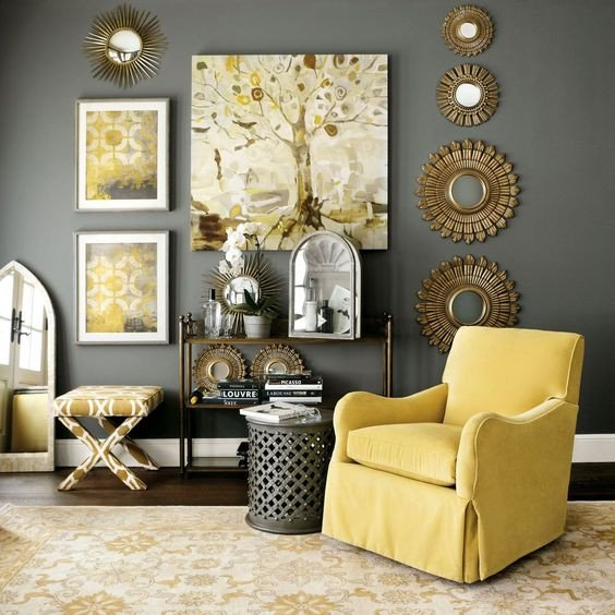 Yellow and Grey Room Decor Awesome 29 Stylish Grey and Yellow Living Room Décor Ideas Digsdigs
